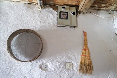 Sections from a village house.
