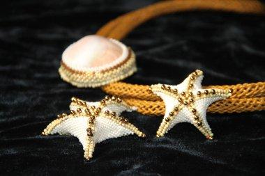 Handmade Bead jewelry women wore