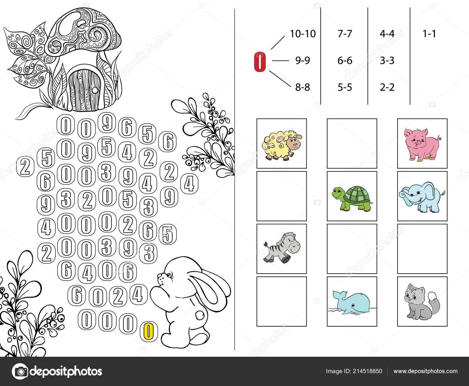 Libro Matemáticas Para Educación Preescolar Rompecabezas Para Niños