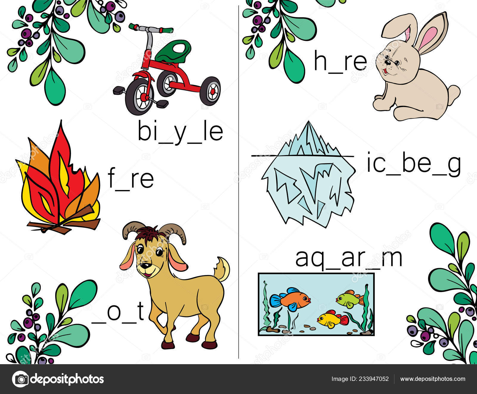 Add Words Letters Learn Write Read Letters Abc Puzzles Kids