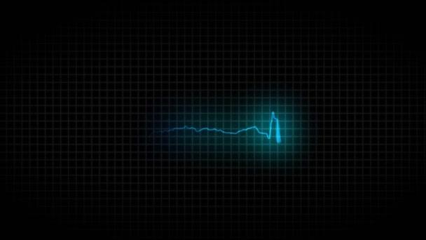 Nemocné a zdravé srdce. Zdravé kardiogram a nezdravé kardiogram. 36