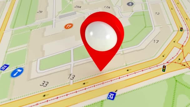 Destination on the map. Search by satellite gps. Many gps signals 136.