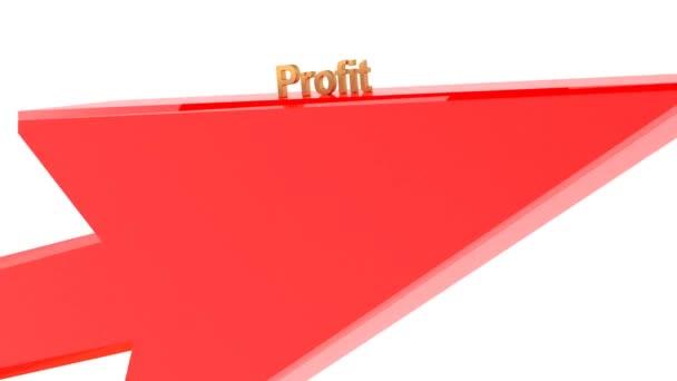 Arrow jelzi profit növekedését az üzleti pénzügyi jólét. A dolgok jól mennek. 28
