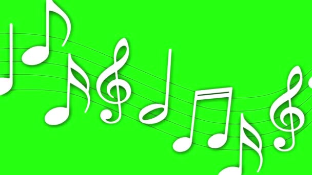 Různé hudební noty