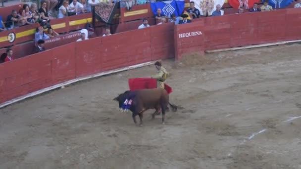 REQUENA, SPAIN - SEPTEMBER 2, 2017: Bullring, Juan Jose Padilla