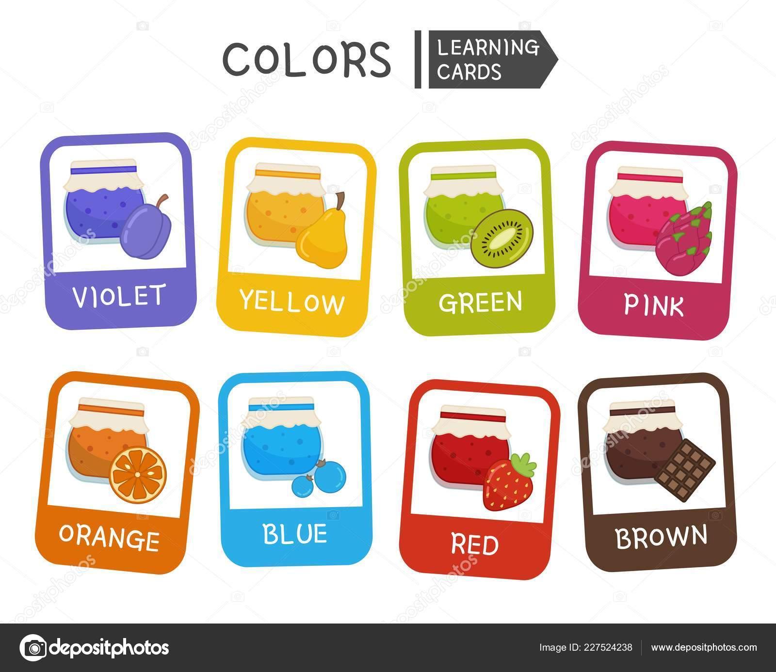 Aprender Los Colores Primarios Material Educativo Para Niños