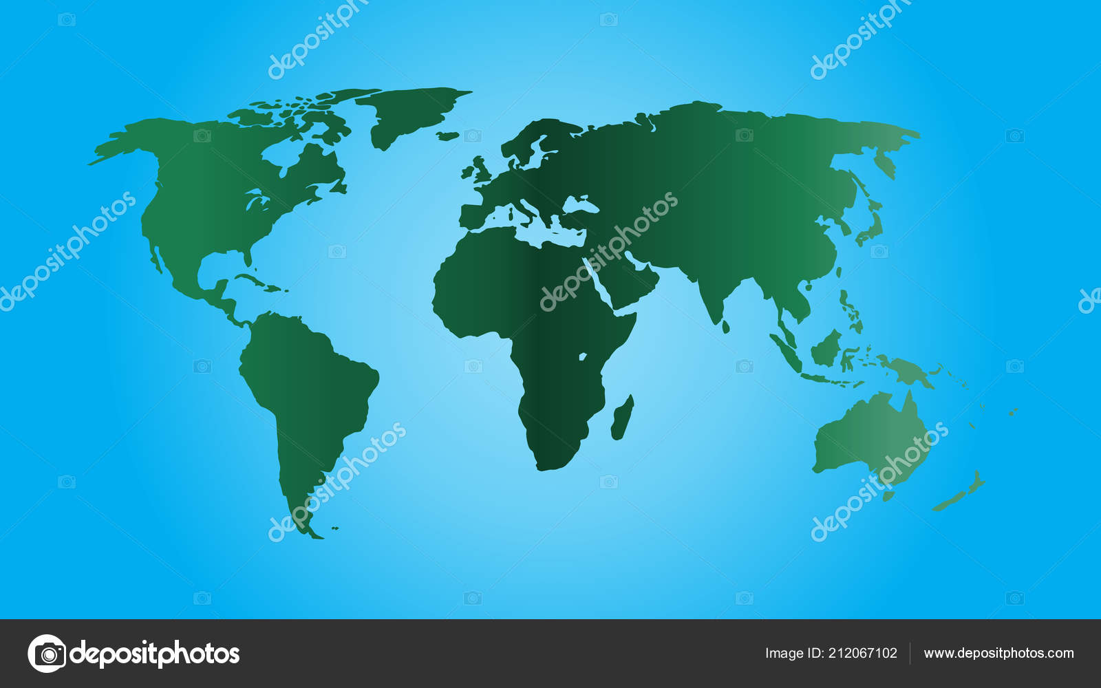Flat Earth Map Download.World Map Vector Ecology Concept Green World Flat Earth Map Stock
