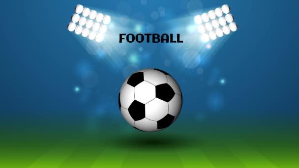 Fotbal Soccer 3d Ball stadionu s 4 k rozlišením