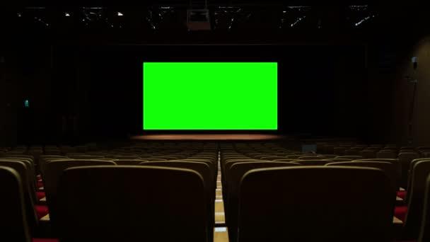 Green Screen Kino Kinosaal Hintergrund