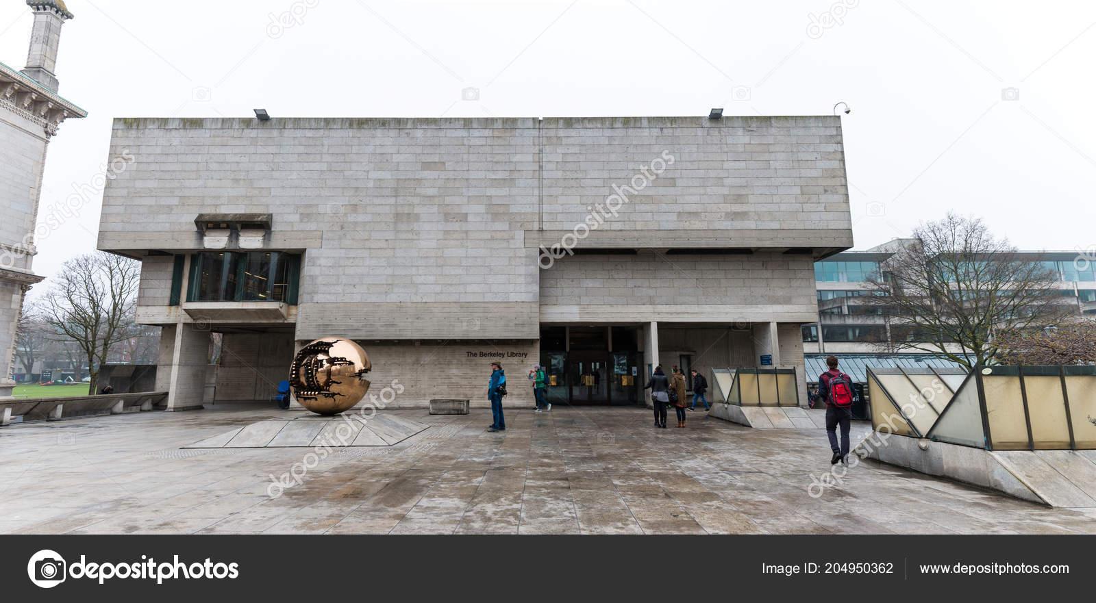 April 12th 2018 Dublin Ireland Berkeley Library Trinity College