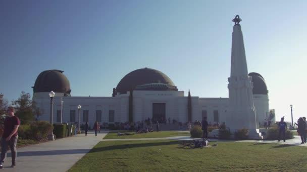 Turisták kívül a Griffith Obszervatórium, Hollywood, Los Angeles-i Kalifornia