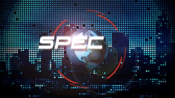 Special Report Animated Title Graphic for TV Broadcast News