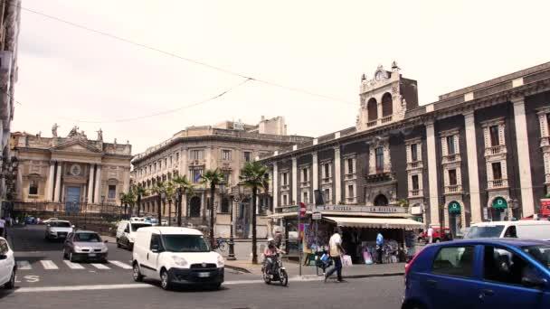 Catania centro Scenic, auto guida su strade