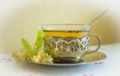 Fragrant tea with linden.