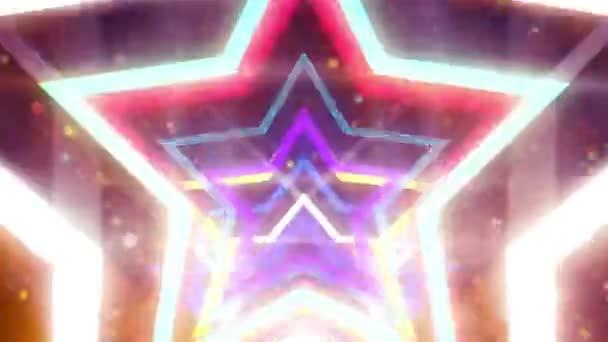 flashing star disco glow