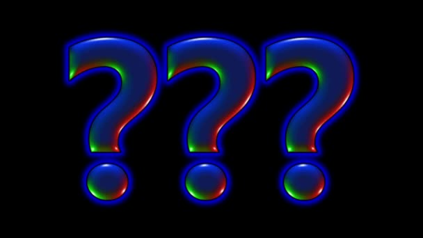 question mark question characters
