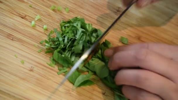 chop herbs food meat meal fresh