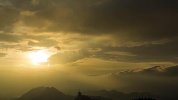 clouds sunset sky nature landscape