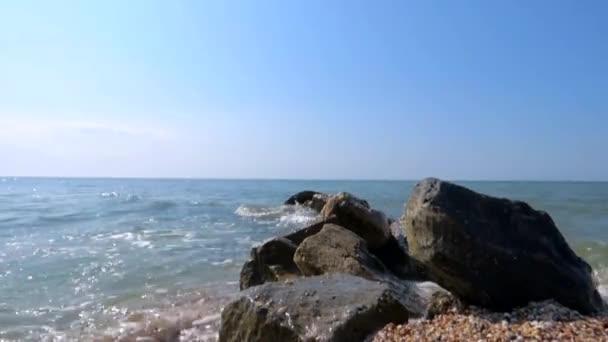 pobřeží moře písku vlna