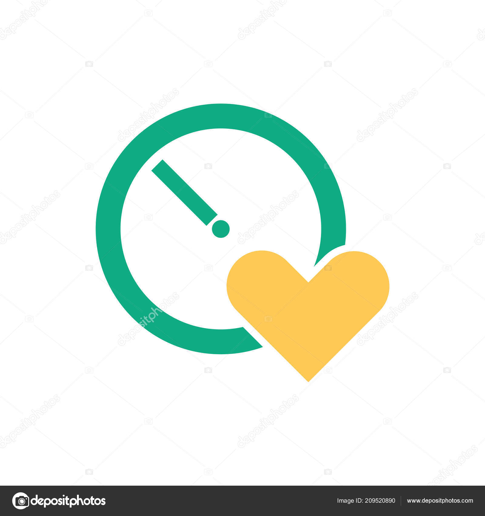 Stopwatch Icon Vector Isolated White Background Your Web