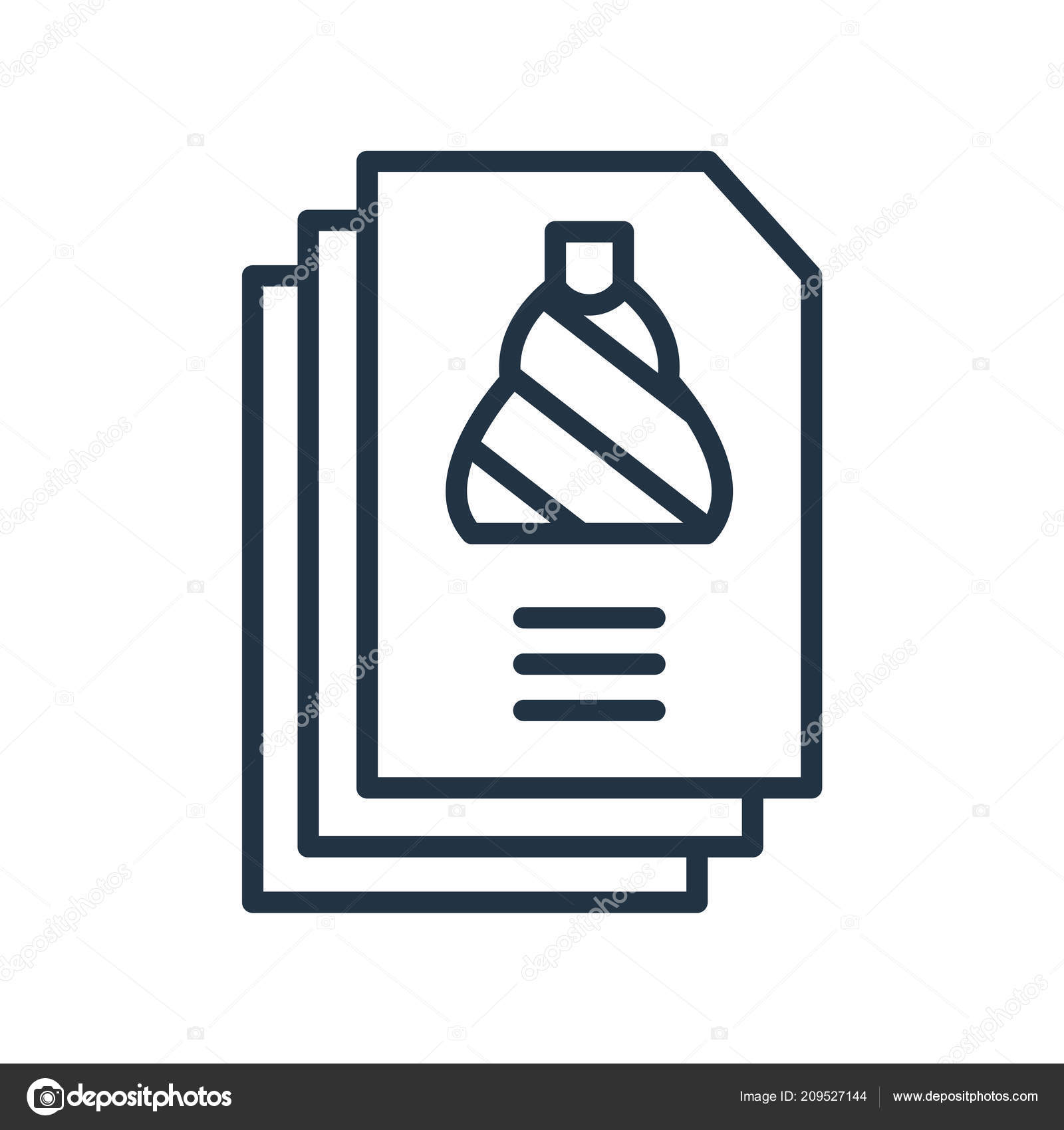 shopping list icon vector isolated white background shopping list transparent stock vector