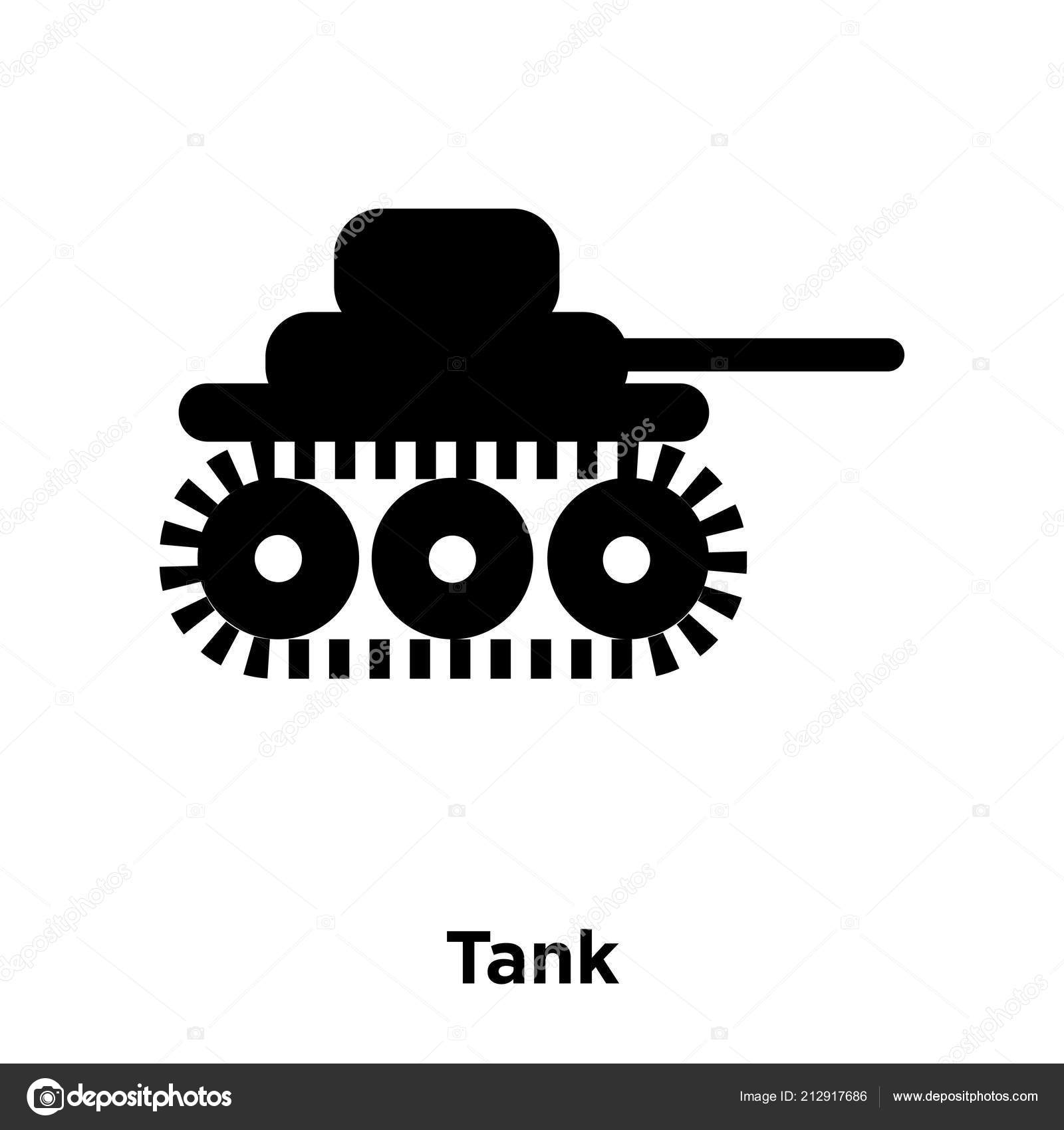 tank icon vector isolated white background logo concept tank sign stock vector c topvectorstock 212917686 depositphotos
