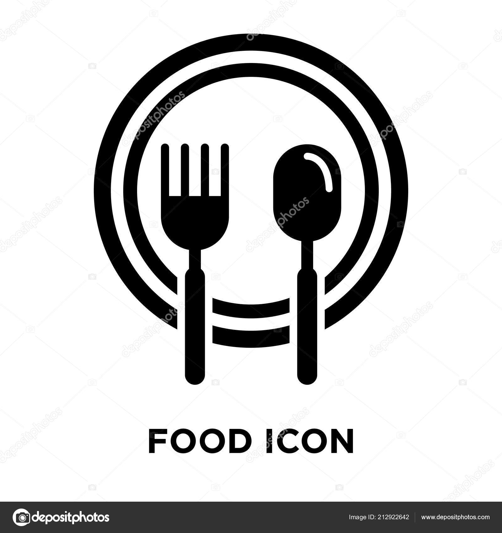 Background: white food transparent | Food Icon Vector