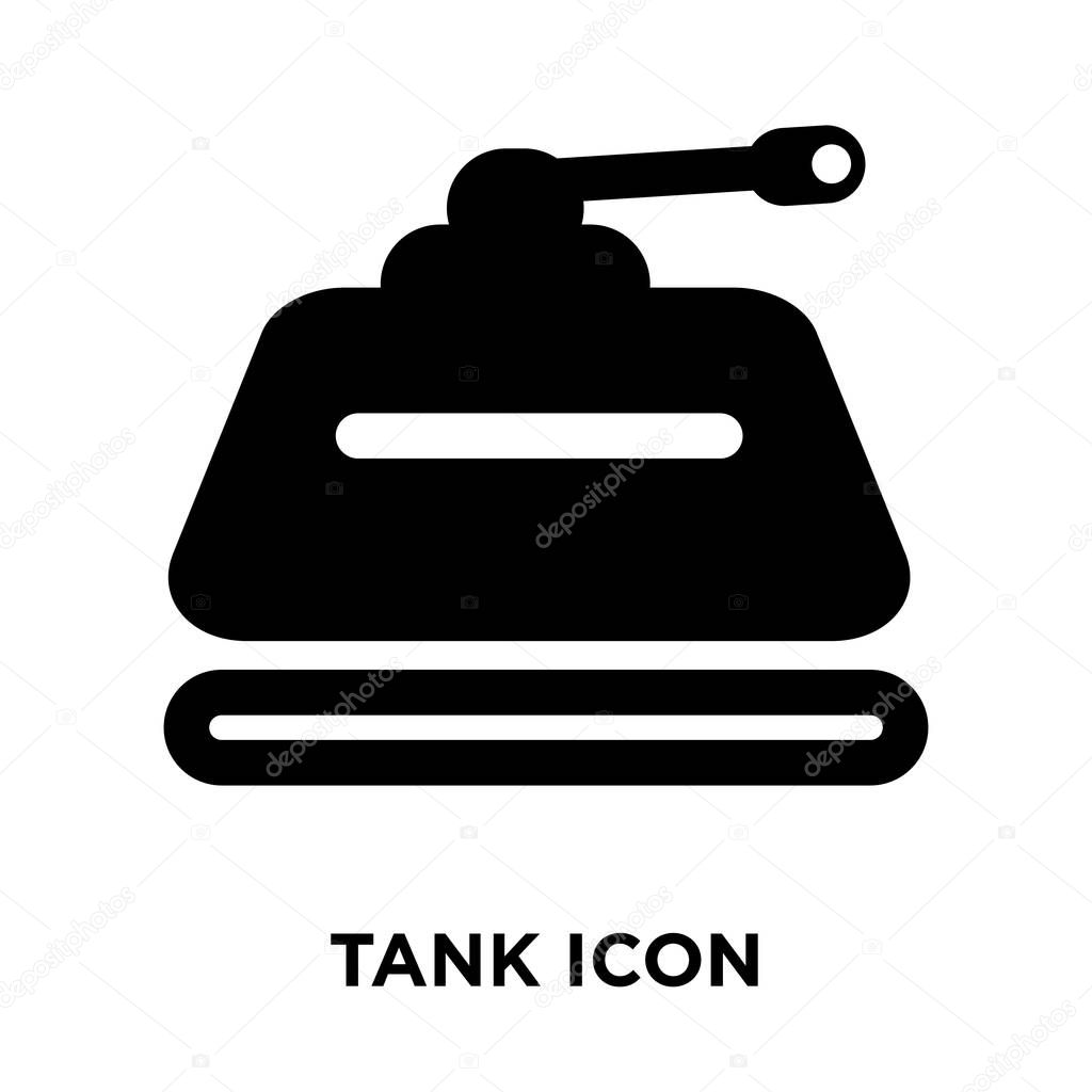 tank icon vector isolated on white background logo concept of tank sign on transparent background filled black symbol premium vector in adobe illustrator ai ai format encapsulated postscript eps eps format wdrfree