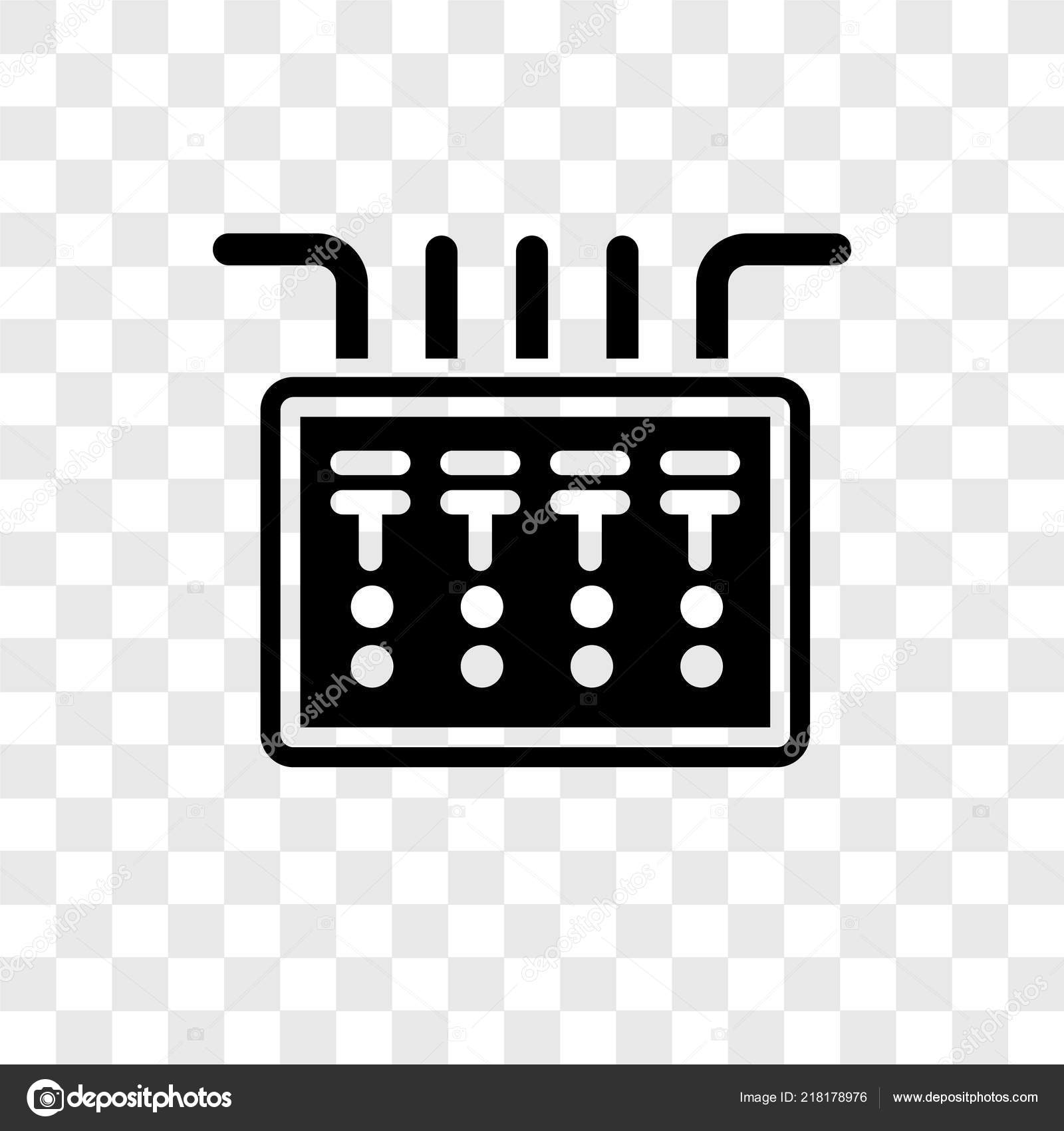 fuse box icon in trendy design style  fuse box icon isolated on transparent  background  fuse box vector icon simple and modern flat symbol for web  site,