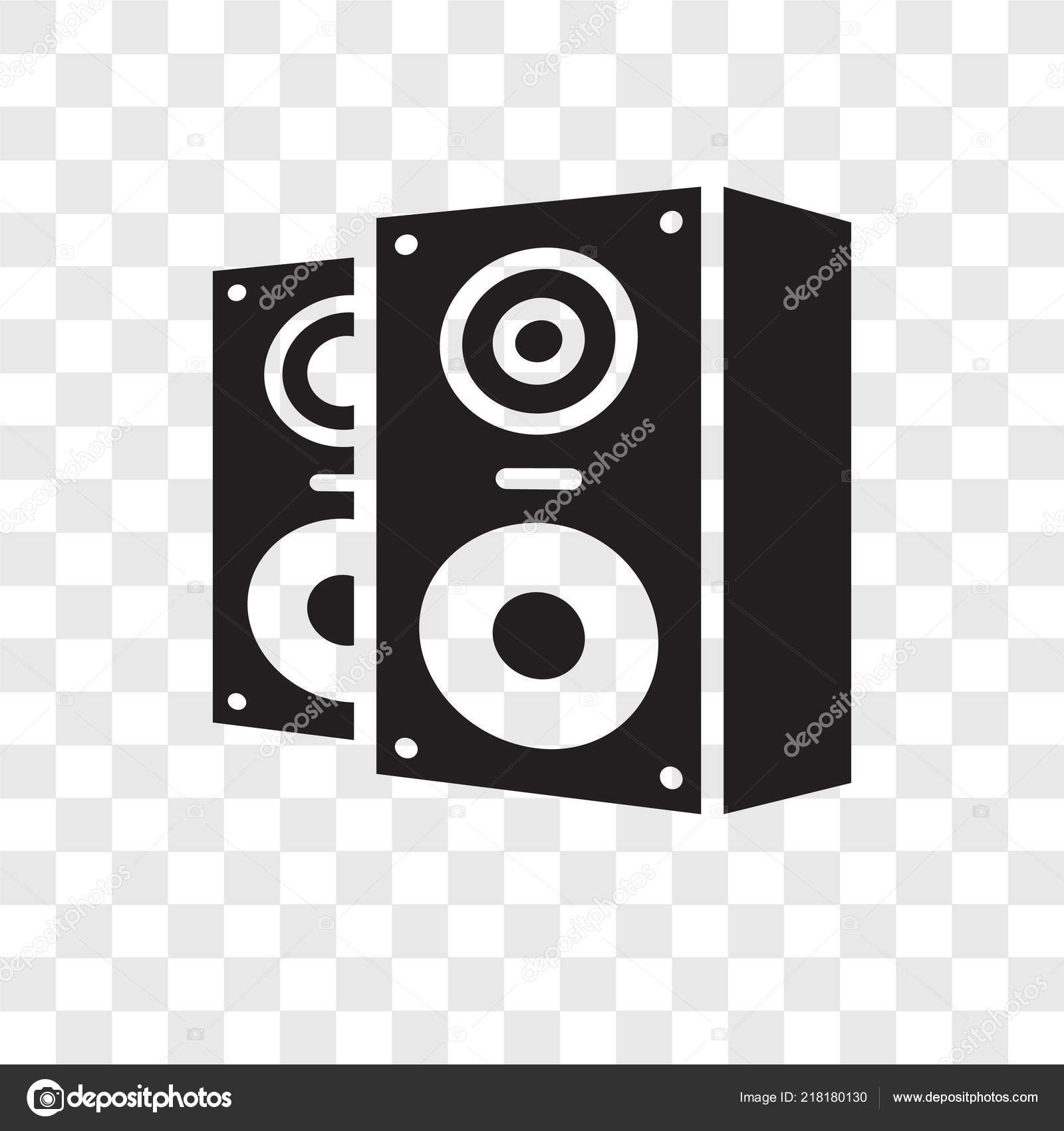 speakers icon trendy design style speakers icon isolated transparent background stock vector c topvectorstock 218180130 https depositphotos com 218180130 stock illustration speakers vector icon isolated transparent html