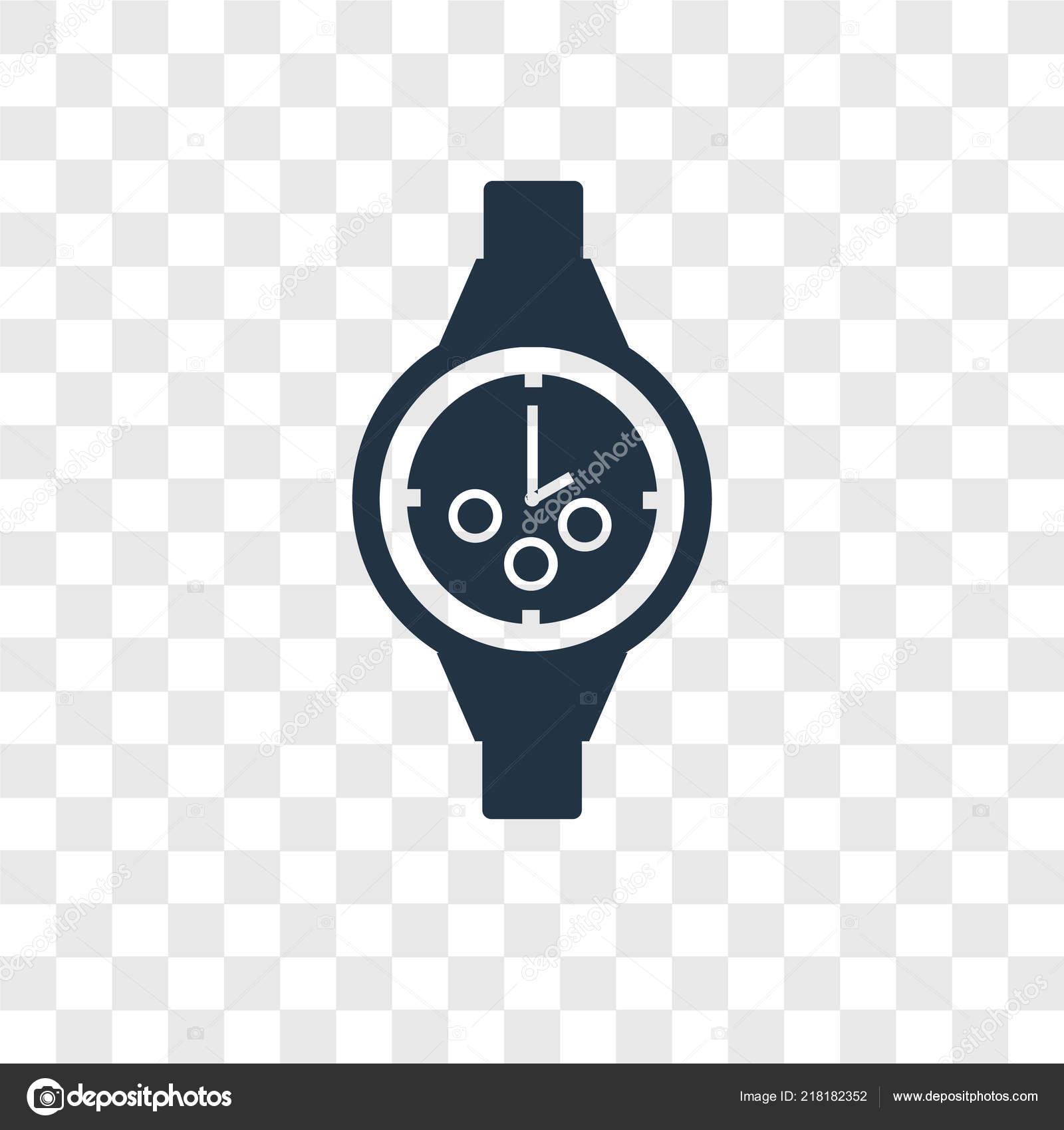 Vector: wristwatch logo   Wristwatch Icon Trendy Design