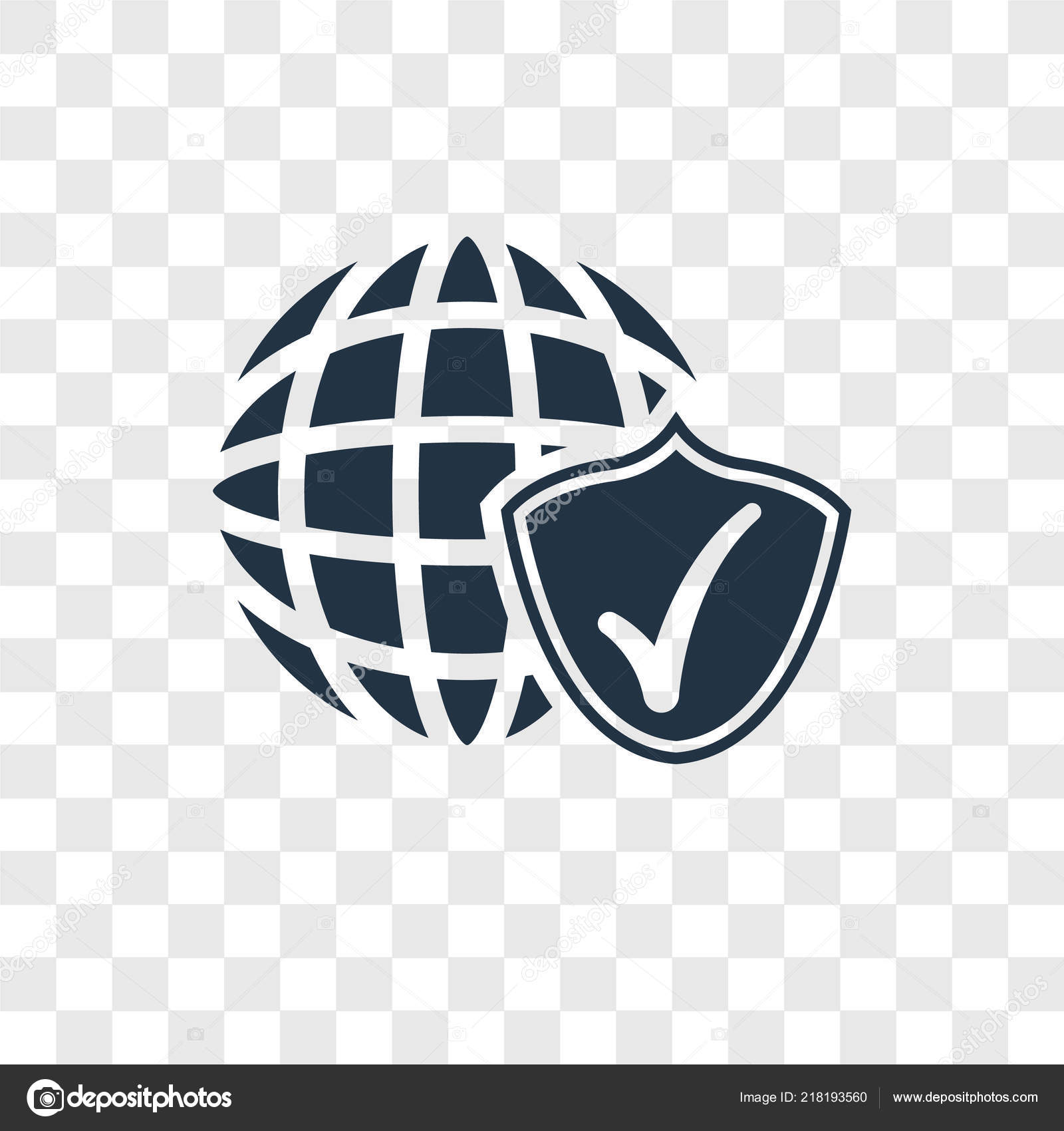 Internet Security Icon Trendy Design Style Internet Security Icon