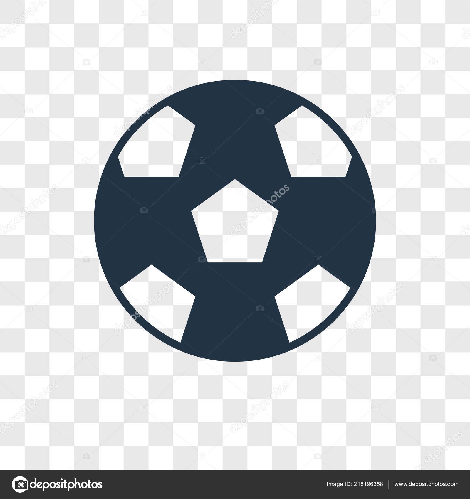 Fussball Ikone Trendigen Design Stil Fussball Ikone Auf