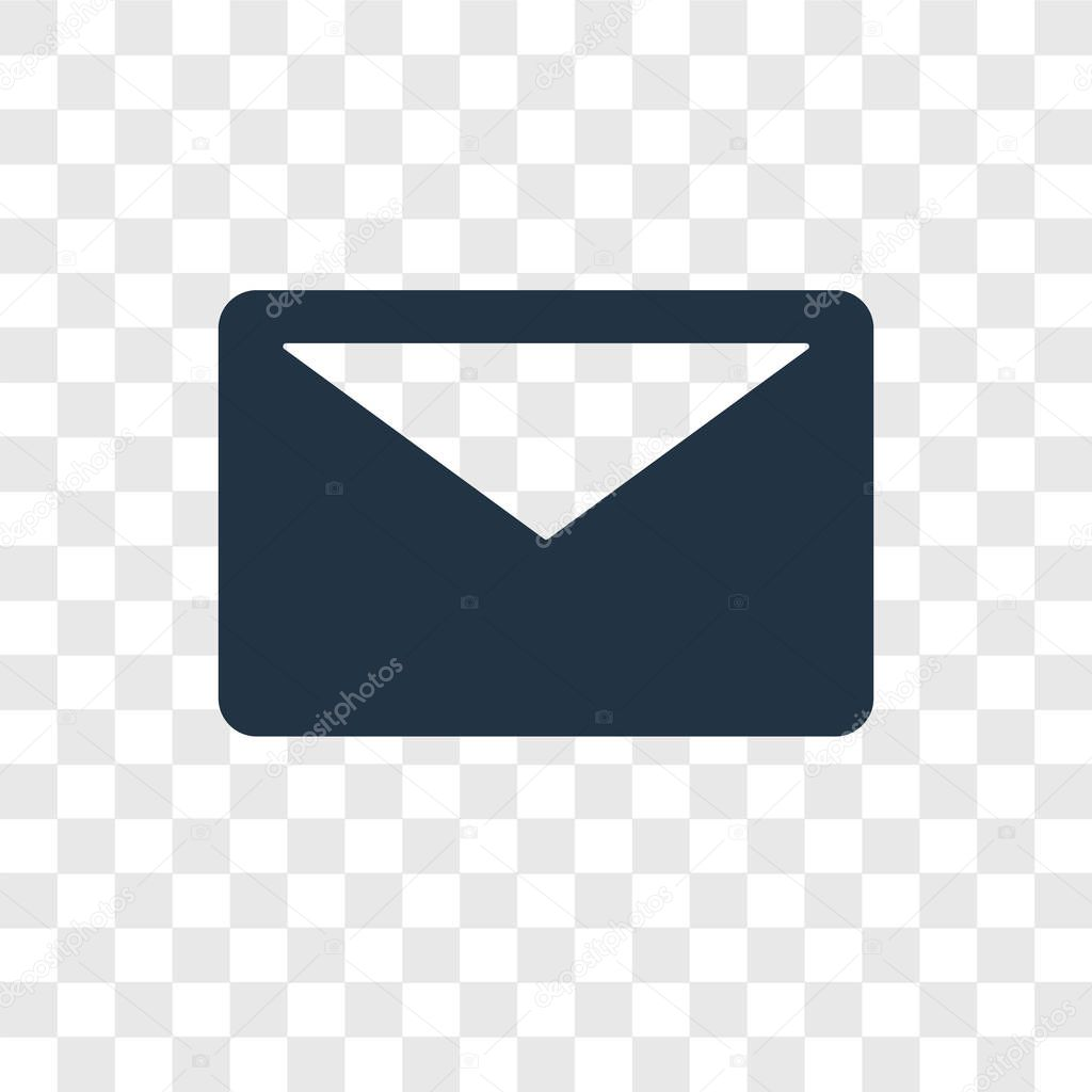 Email Icon In Trendy Design Style Email Icon Isolated On Transparent Background Email Vector Icon Simple And Modern Flat Symbol For Web Site Mobile Logo App Ui Email Icon Vector Illustration
