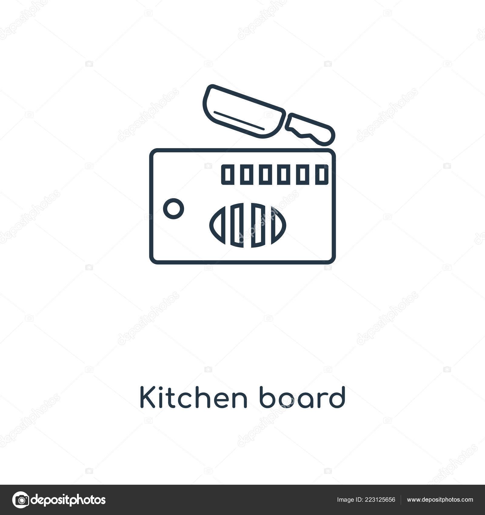 Icona Board Cucina Stile Design Alla Moda Icona Lavagna Cucina ...