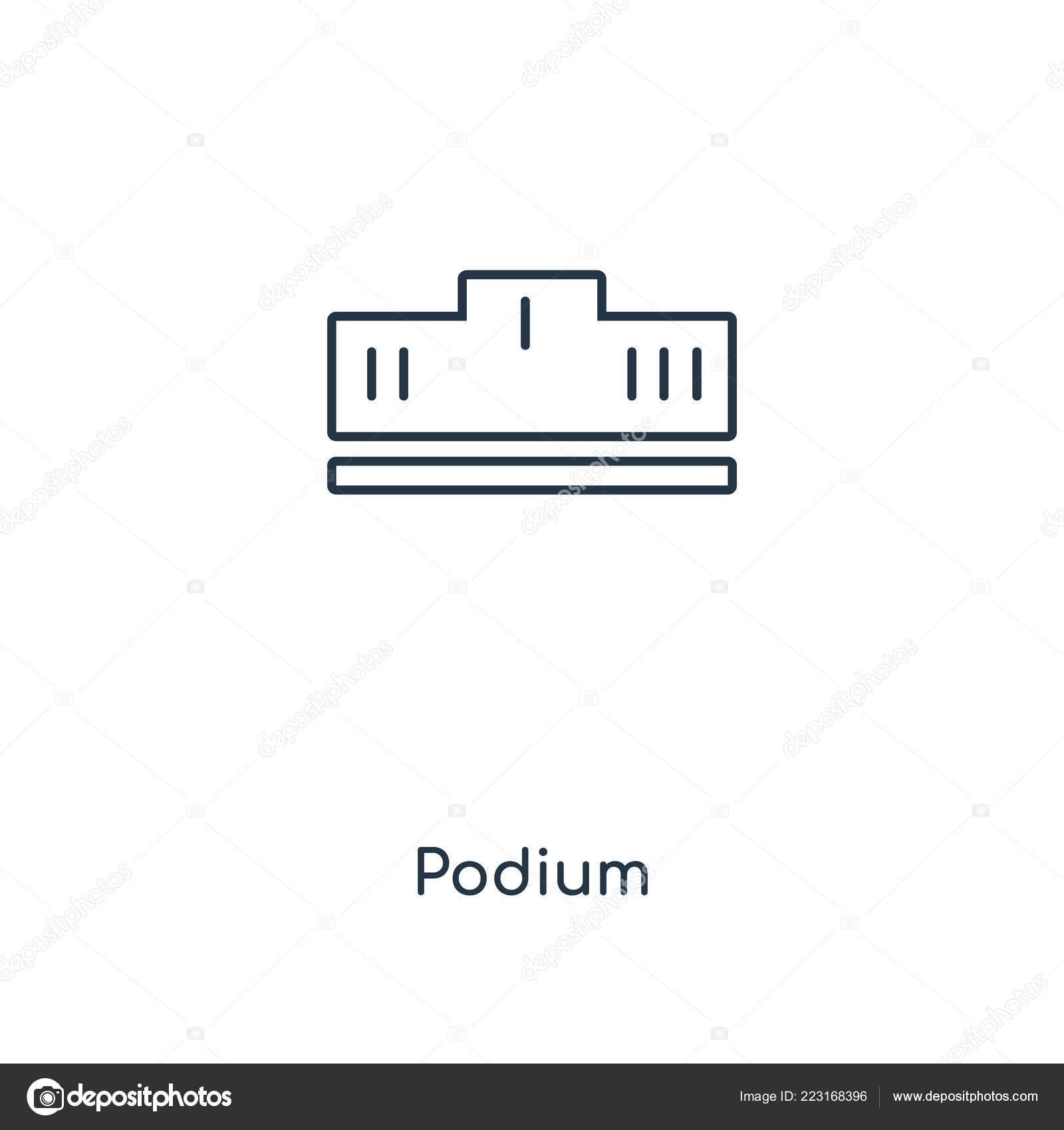 web podium