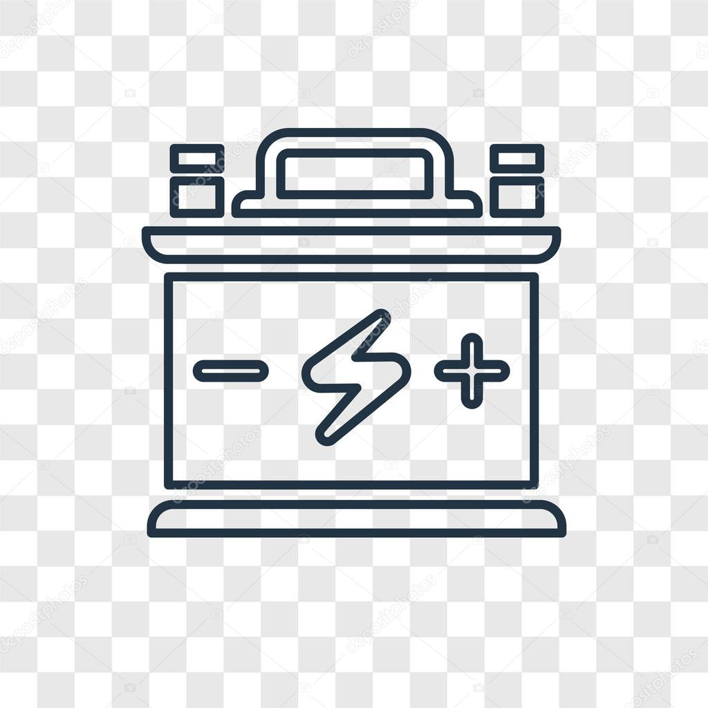 battery icon in trendy design style battery icon isolated on transparent background battery vector icon simple and modern flat symbol for web site mobile logo app ui battery icon vector illustration wdrfree