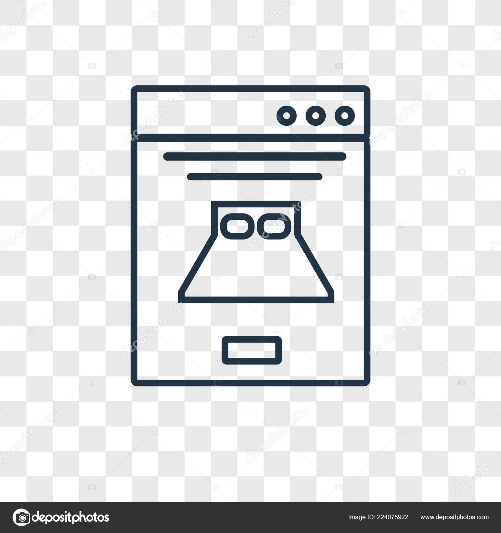 Booking Icon Trendy Design Style Booking Icon Isolated