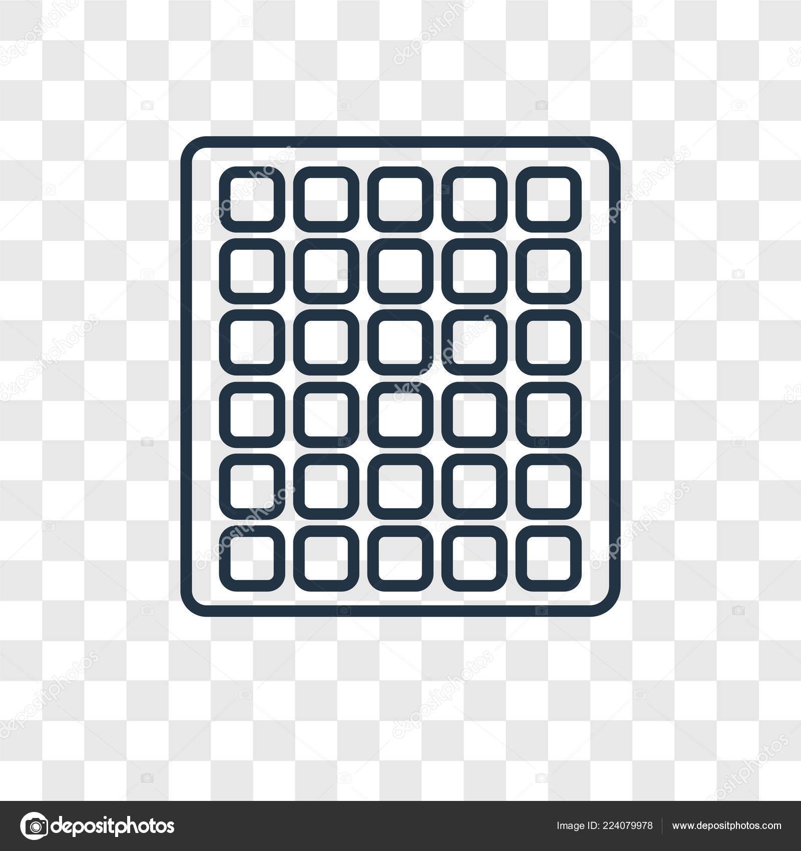 Square Grid Icon Trendy Design Style Square Grid Icon