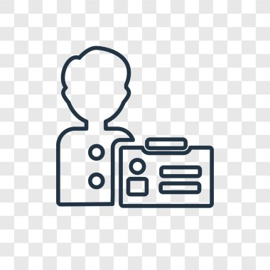 visitor icon in trendy design style. visitor icon isolated on transparent background. visitor vector icon simple and modern flat symbol for web site, mobile, logo, app, UI. visitor icon vector illustration, EPS10.