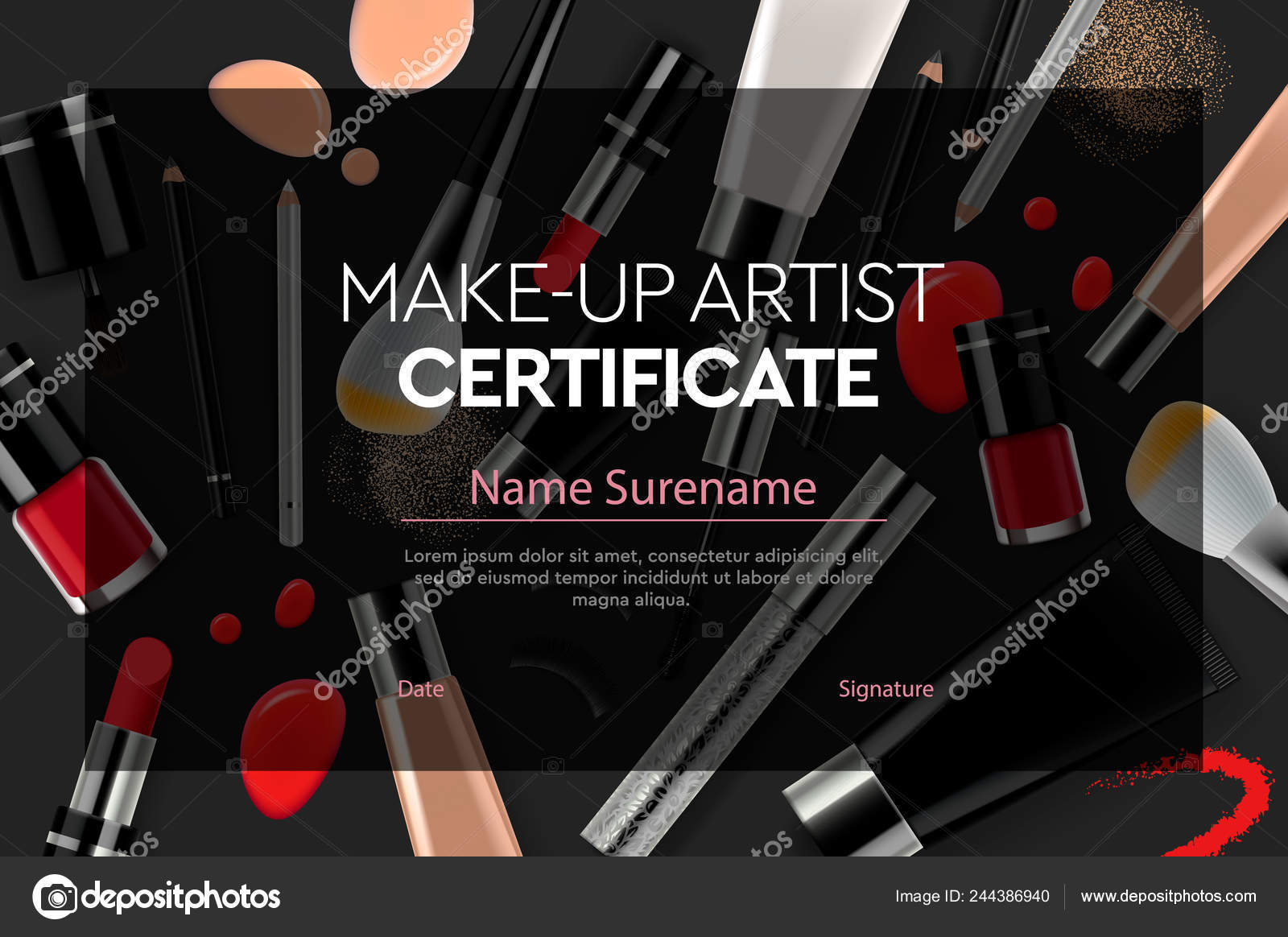 Certificate Makeup Artist Education