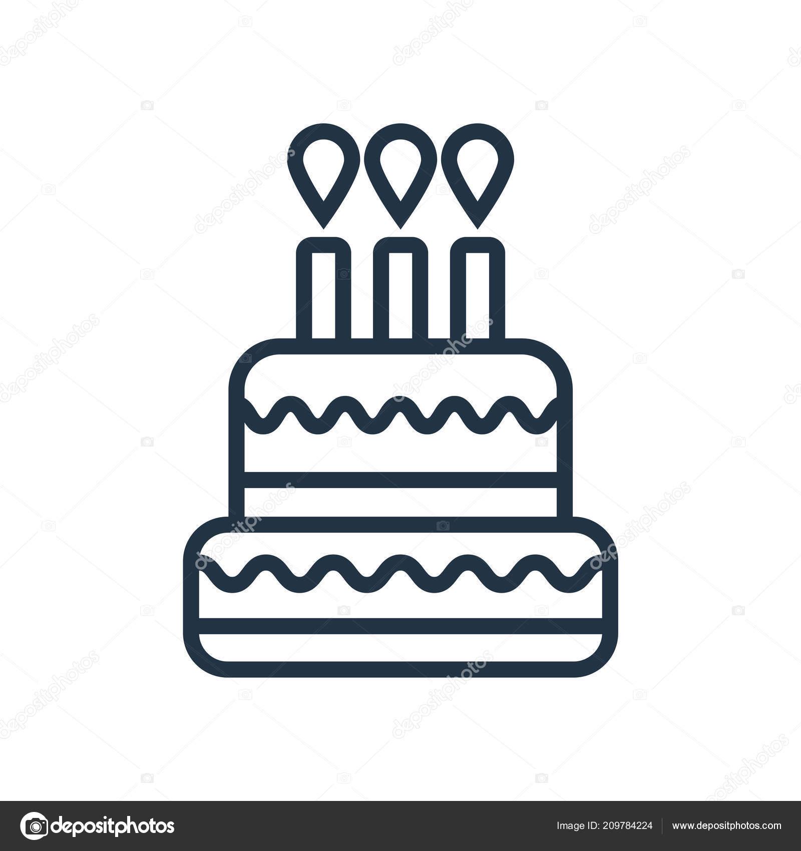 Strange Background Birthday Cake Transparent Birthday Cake Icon Vector Funny Birthday Cards Online Kookostrdamsfinfo