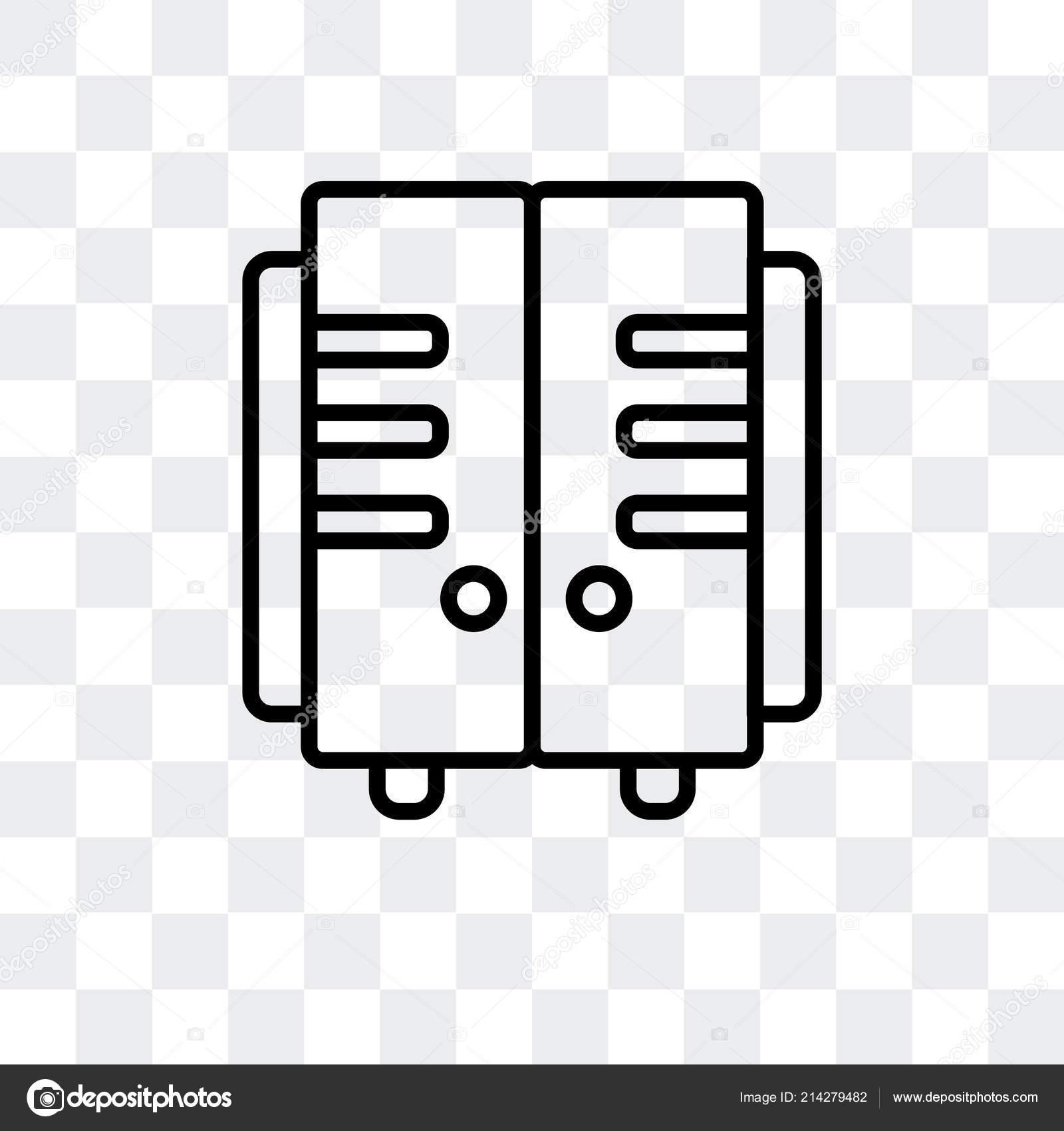 Seffaf Arka Plan Uzerinde Dolap Logo Tasarimi Izole Dolaplar