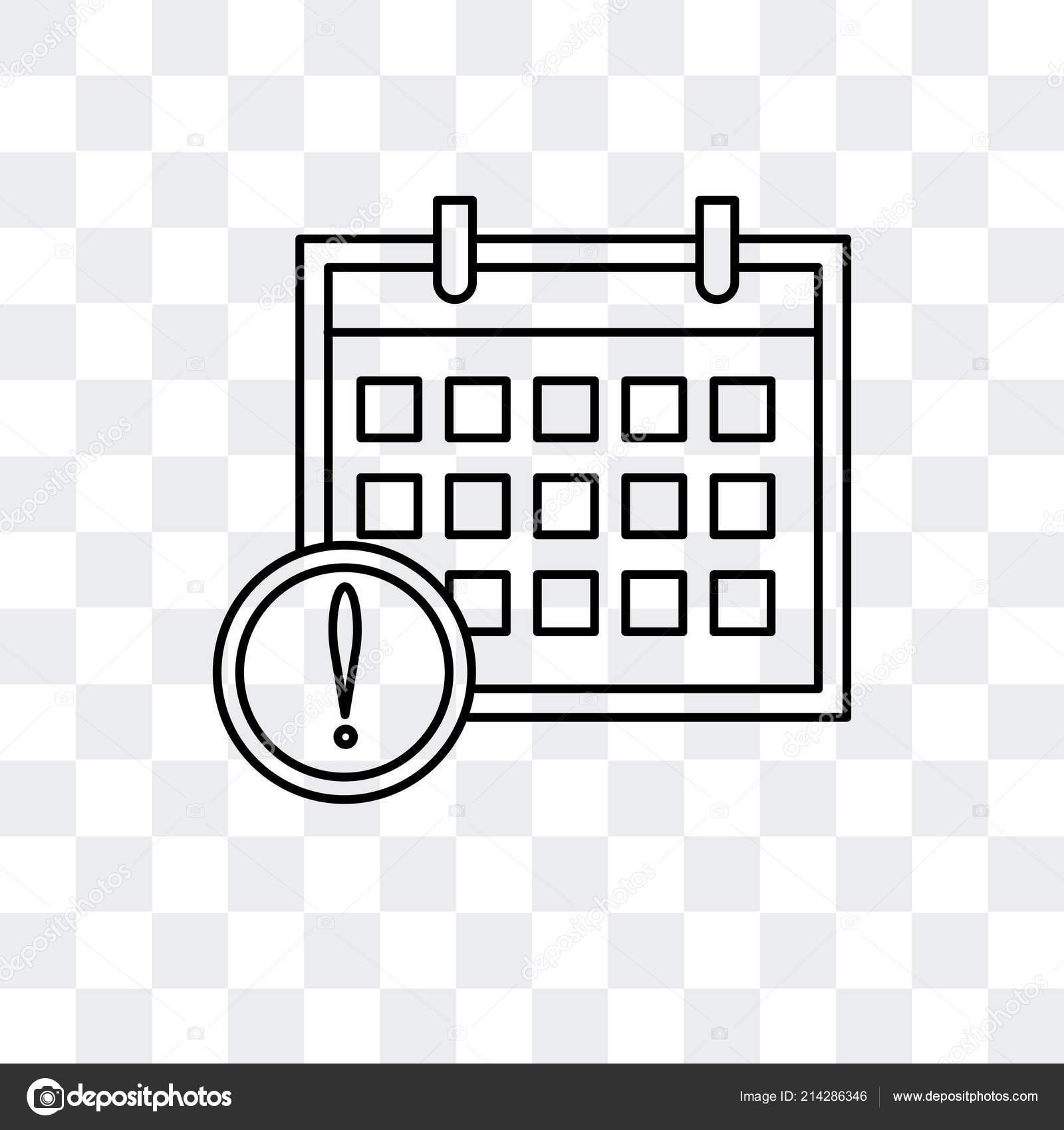 Calendario Icona.Icona Del Calendario Vettoriale Isolato Su Sfondo