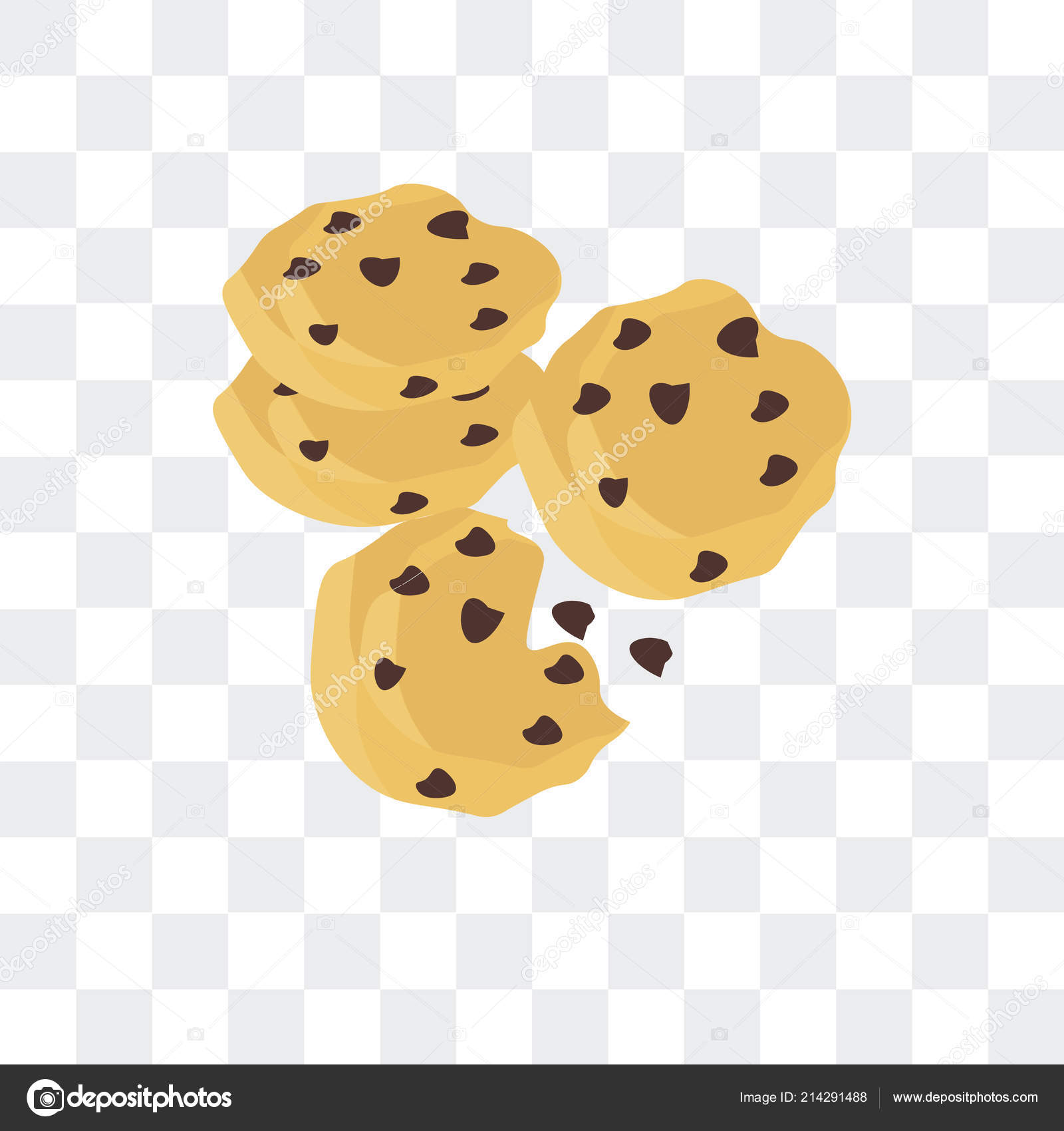 vector cookie png cookie vector icon isolated on transparent background cookie lo stock vector c bestvectorstock 214291488 https depositphotos com 214291488 stock illustration cookie vector icon isolated on html