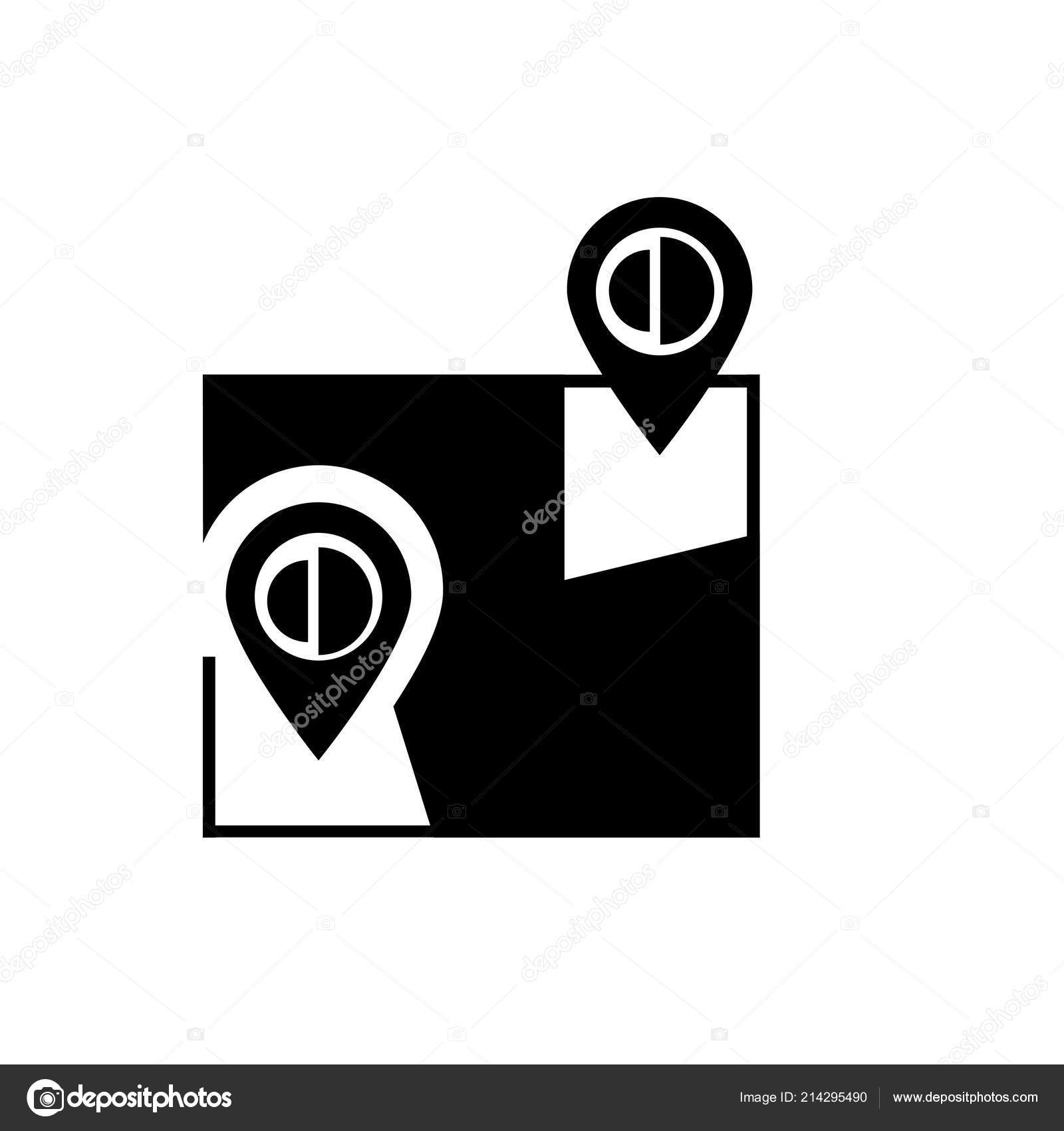 Google Maps Icon Vector Isolated On White Background Google Map