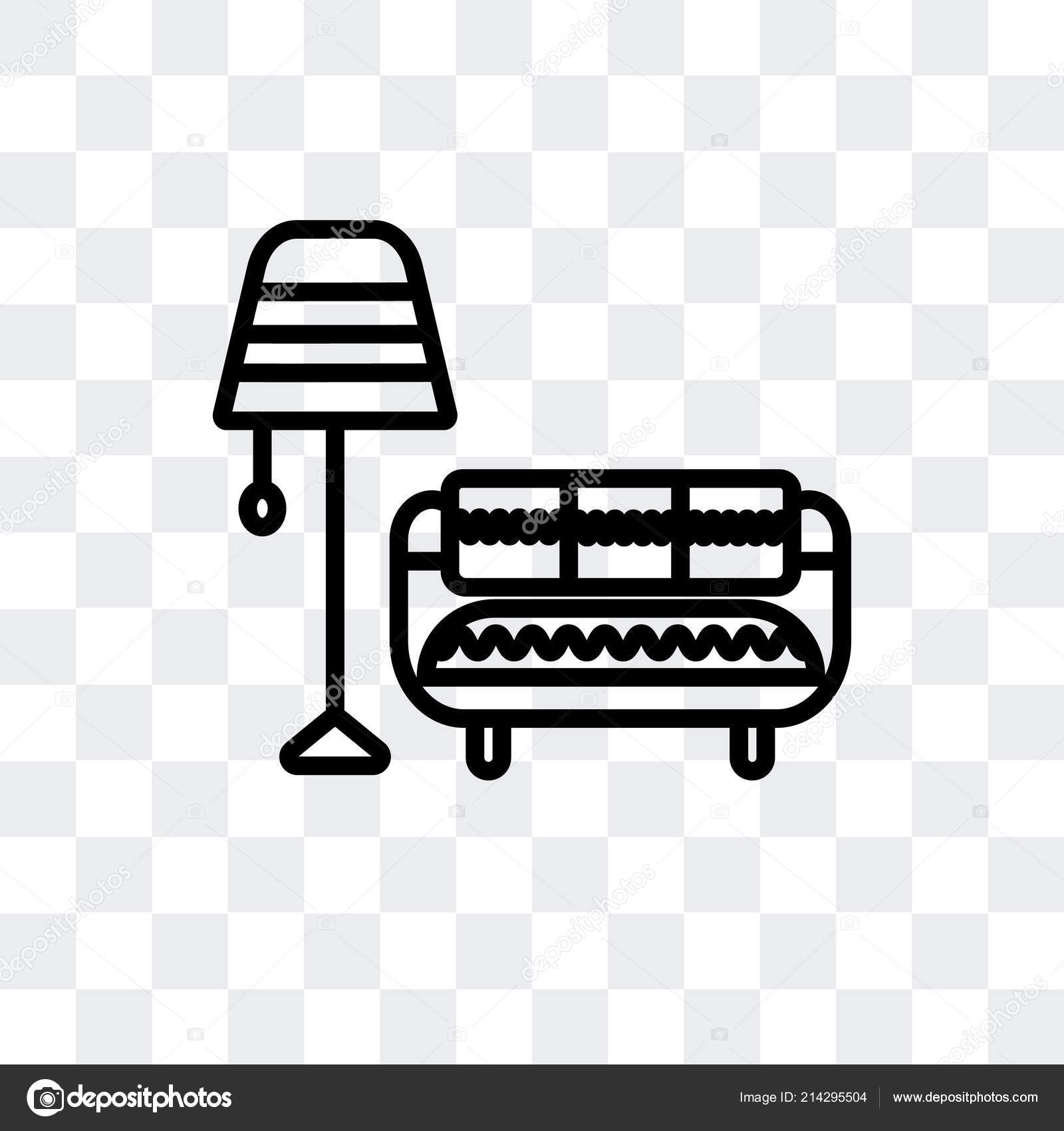Vector Room Living Room Vector Icon Isolated On