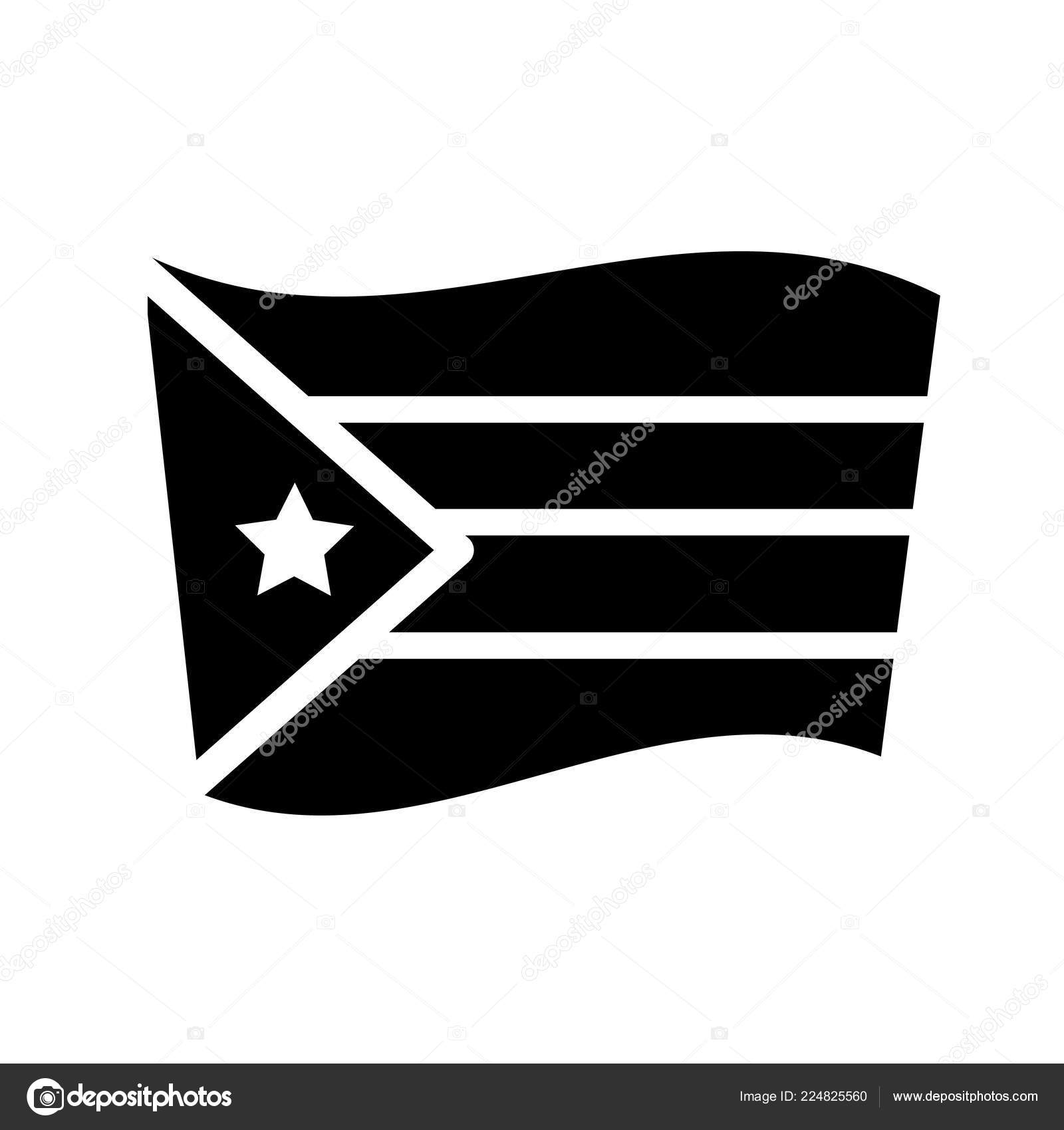 Puerto Rico Flag Icon Trendy Puerto Rico Flag Logo Concept — Stock Vector ©  bestvectorstock #224825560