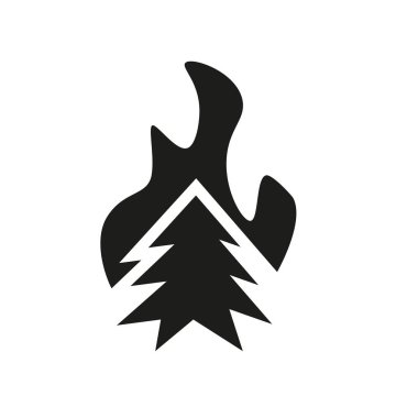 wildfire icon. Trendy wildfire logo concept on white background from Weather collection. Suitable for use on web apps, mobile apps and print media.