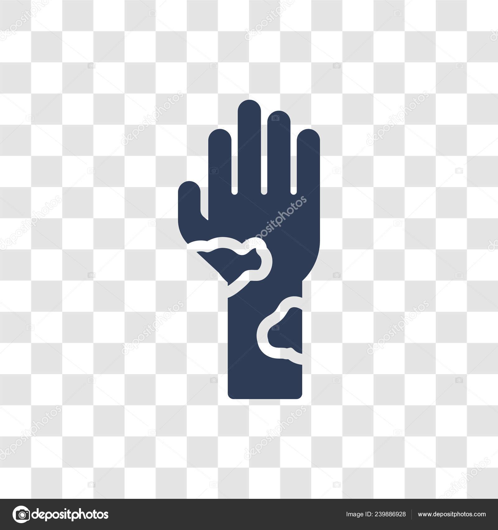Mottled Skin Icon Trendy Mottled Skin Logo Concept Transparent